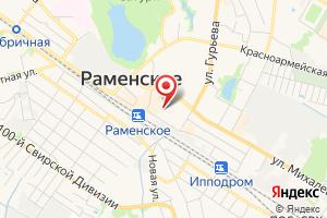 Адрес Раменский водоканал на карте