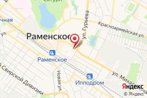 Адрес Отдел сбыта коммунальных услуг Раменский водоканал на карте