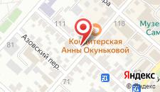 Гостевой дом на Краснодарской на карте