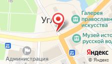 Гостиница Успенская на карте