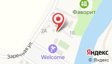 Отель Welcome на карте