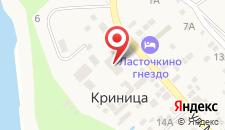 Курортный отель Дубравушка на карте