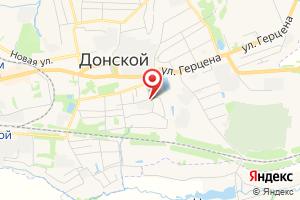 Адрес Газпром межрегионгаз Тула, Донская районная служба - Донской участок, г. Донской на карте