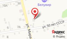 Гостевой дом Какаду на карте