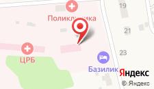 Мини-отель Базилик Становое на карте