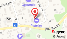 Отель Гудвин на карте