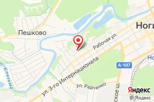Адрес Филиал ГУП МО КС МО Ногинский водоканал на карте