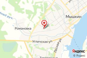 Адрес Электрическая подстанция Мышкин на карте
