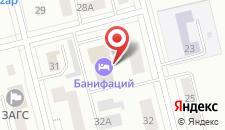 Отель Банифаций на карте