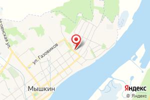 Адрес КТП Комсомольская-Молодежная на карте