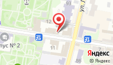 Гостиница Ельчик на карте