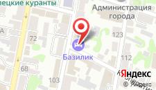 Мини-отель Базилик на карте