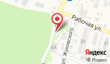 Санаторий Архипо-Осиповка на карте