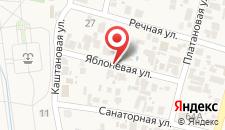 Гостевой дом У Антонины на карте