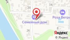 Апарт-отель Семейный дом на карте