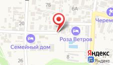 Отель Лев на карте