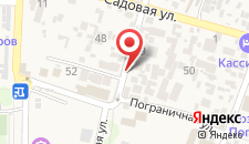 Отель Аквариус на карте
