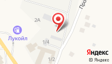 Мотель Аленино на карте