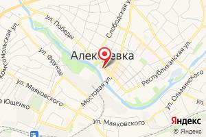 Адрес Газпром межрегионгаз Белгород, территориальный участок по реализации газа в г. Алексеевка на карте
