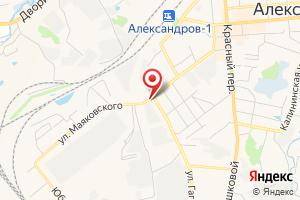 Адрес Газспецстрой на карте