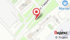 Апартаменты Квартира на Гаврилова на карте