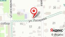 Гостевой дом Кремлевский на карте