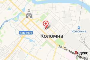 Адрес Газпром межрегионгаз, Коломненская районная служба на карте