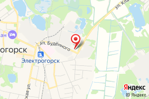 Адрес Коммунальщик МУП г. Электрогорск на карте