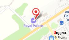 Отель Royal Palace на карте