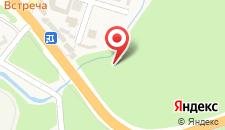 Отель М4 на карте