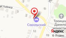 Гостевой дом Сокольский на карте