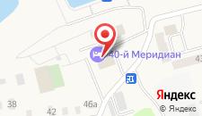 Гостиница 40-й меридиан Яхт-клуб на карте