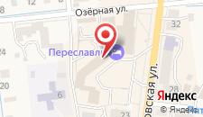 Гостиница Переславль на карте