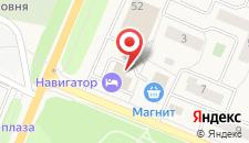 Мотель Навигатор Отель на карте