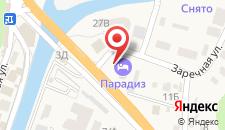 Гостевой дом Премьер на карте