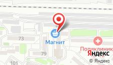Гостиница 12 месяцев на карте
