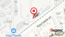 Гостиница Ивушка на карте