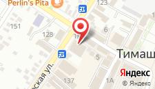 Гостиница Тета на карте