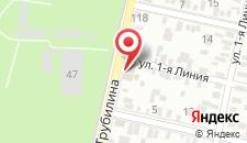 Гостиница Максимус на карте