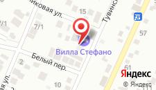 Ресторанно-гостиничный комплекс Villa Stefano на карте