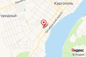 Адрес Каргопольский водоканал на карте