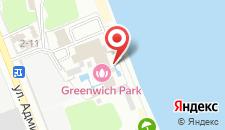 Отель Гринвич Парк на карте