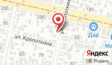 Гостевой дом Гостевой Двор на Кропоткина на карте