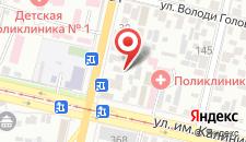 Хостел Онегин на карте