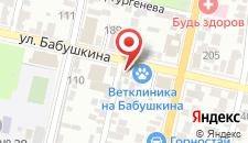 Гостиница El'Greco на карте