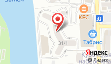 Апартаменты Daroom Apart Brigantina на карте