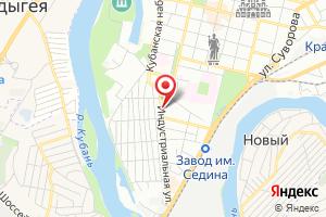 Адрес Газпром межрегионгаз Краснодар, Участок № 4 в г. Краснодаре на карте