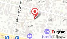 Отель Альвита на карте