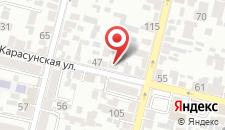 Хостел Sherlock Homes на карте