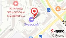 Гостевой двор Зуевский на карте